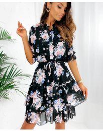 Φόρεμα - κώδ. 8877 - 2 - πολύχρωμο