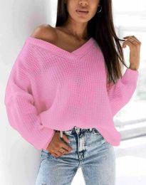 Πουλόβερ - κώδ. 0283 - ροζ