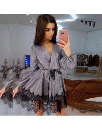 Φόρεμα - κώδ. 3738 - γκρι