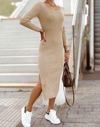 Φόρεμα - κώδ. 2326 - μπεζ
