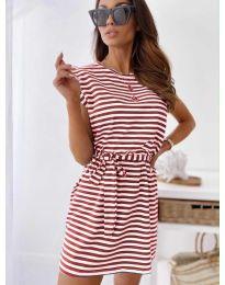Φόρεμα - κώδ. 6634 - κόκκινο