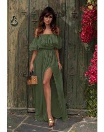 Φόρεμα - κώδ. 3336 - χακί