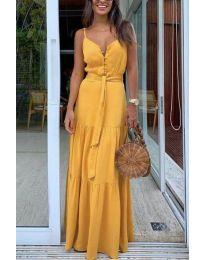 Φόρεμα - κώδ. 2050 - μουσταρδί