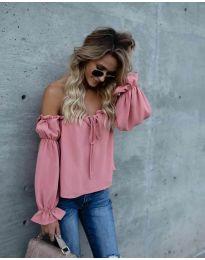Μπλούζα - κώδ. 5574 - ροζ