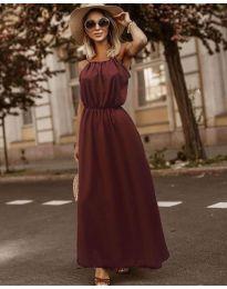 Φόρεμα - κώδ. 3323 - μπορντό