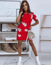 Φόρεμα - κώδ. 2906 - κόκκινο