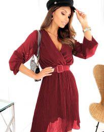 Φόρεμα - κώδ. 3497 - μπορντό