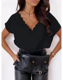 Κοντομάνικο μπλουζάκι - κώδ. 433 - μαύρο