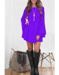 Φόρεμα - κώδ. 8102 - μωβ