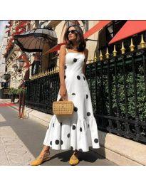Φόρεμα - κώδ. 7011 - λευκό