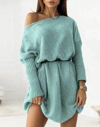 Φόρεμα - κώδ. 6940 - μέντα