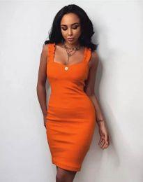 Φόρεμα - κώδ. 0229 - πορτοκαλί