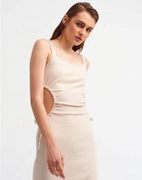 Φόρεμα - κώδ. 1272 - λευκό