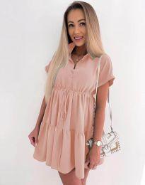 Φόρεμα - κώδ. 8889 - ροζ