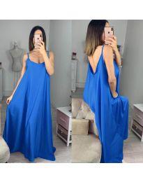 Φόρεμα - κώδ. 6600 - σκούρο μπλε