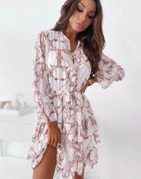 Φόρεμα - κώδ. 2550 - πολύχρωμο