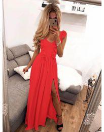 Φόρεμα - κώδ. 673 - κόκκινο