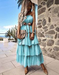 Φόρεμα - κώδ. 1543 - τυρκουάζ