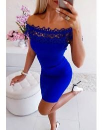 Φόρεμα - κώδ. 3105 - μπλε