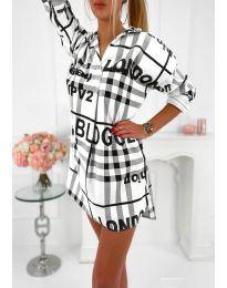 Φόρεμα - κώδ. 5456 - λευκό