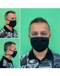 Μάσκα - κώδ. 015 - μαύρο