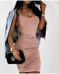Φόρεμα - κώδ. 603 - πούδρα