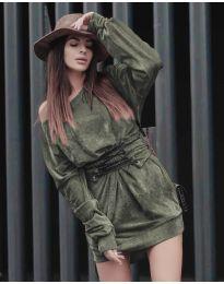 Φόρεμα - κώδ. 8989 - πράσινο