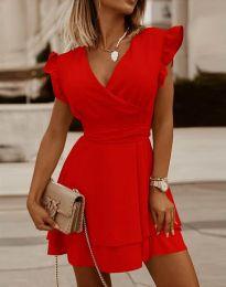Φόρεμα - κώδ. 5654 - κόκκινο