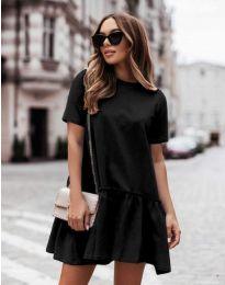 Φόρεμα - κώδ. 11890 - μαύρο