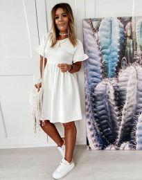 Φόρεμα - κώδ. 1733 - λευκό