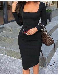 Φόρεμα - κώδ. 3450 - μαύρο