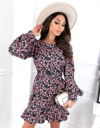 Φόρεμα - κώδ. 8114 - πολύχρωμο
