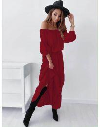 Φόρεμα - κώδ. 1317 - μπορντό