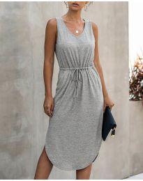 Φόρεμα - κώδ. 681 - γκρι