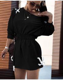 Φόρεμα - κώδ. 7470 - μαύρο