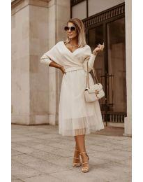 Φόρεμα - κώδ. 9994 - λευκό