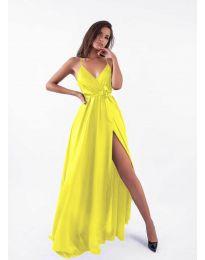Φόρεμα - κώδ. 5500 - κίτρινο