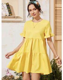 Φόρεμα - κώδ. 0033 - κίτρινο