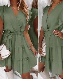 Φόρεμα - κώδ. 2345 - λαδί