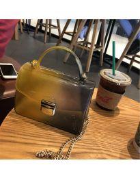 Τσάντα - κώδ. B107 - μουσταρδί