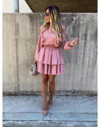 Φόρεμα - κώδ. 7723 - ροζ