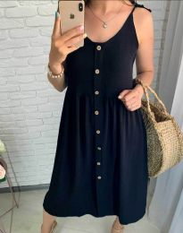 Φόρεμα - κώδ. 1472 - 1 - μαύρο