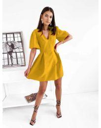 Φόρεμα - κώδ. 0807 - μουσταρδί