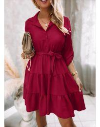 Φόρεμα - κώδ. 6970 - μπορντό