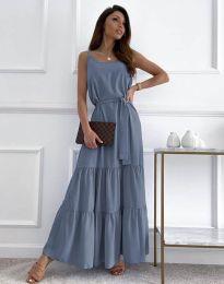 Φόρεμα - κώδ. 2578 - μπλε