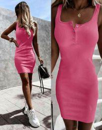 Φόρεμα - κώδ. 9458 - ροζ