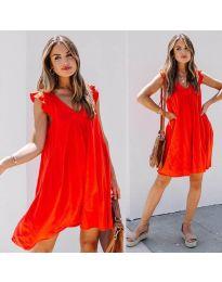 Φόρεμα - κώδ. 5090 - κόκκινο