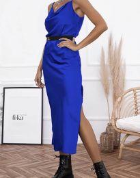Φόρεμα - κώδ. 6231 - σκούρο μπλε