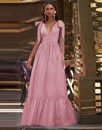 Φόρεμα - κώδ. 2743 - πούδρα
