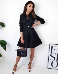 Φόρεμα - κώδ. 3852 - μαύρο